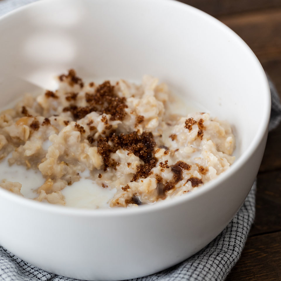Old Fashioned Oatmeal Recipe Eatingwell