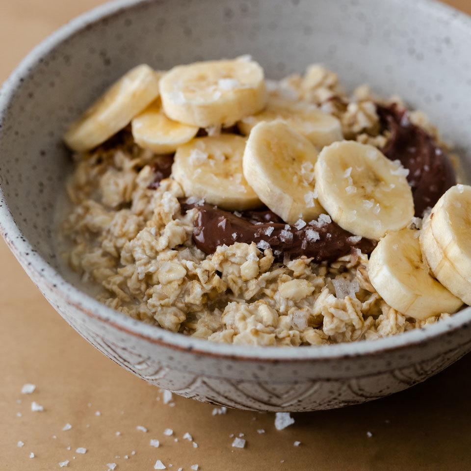 Chocolate-Banana Overnight Oats EatingWell Test Kitchen