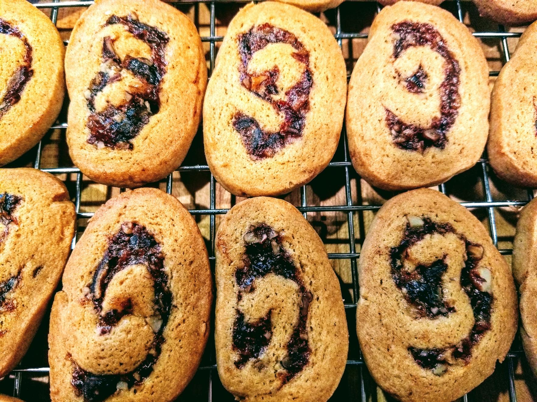 Date Nut Pinwheel Cookies II Susan O'Connor