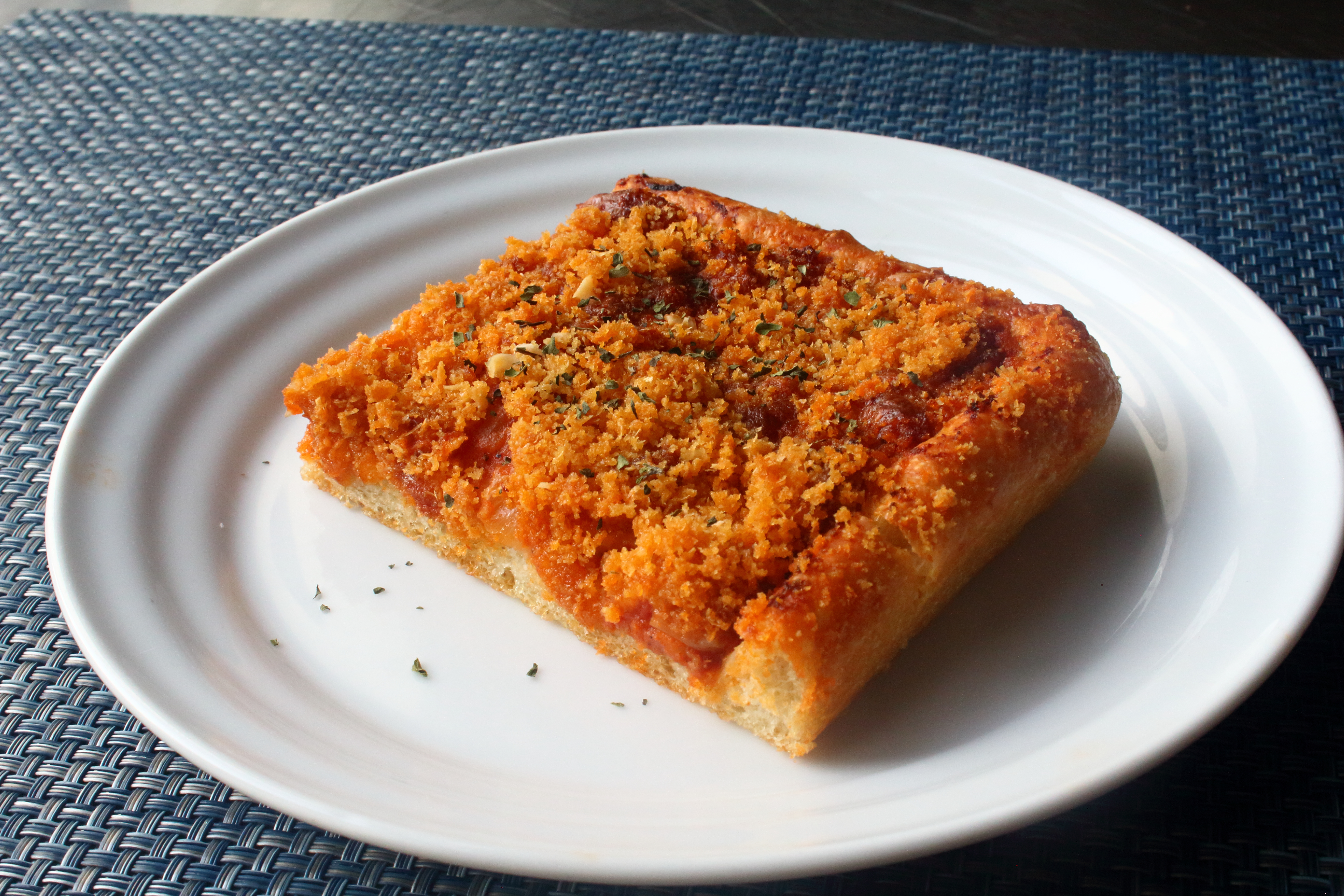 Sicilian Christmas Pizza (Sfincione)
