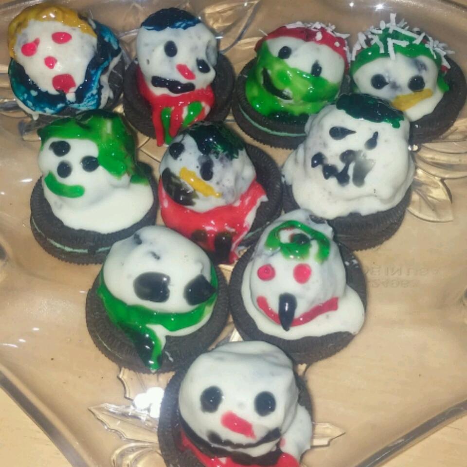 Melting Snowmen OREO Cookie Balls Dylan Wright
