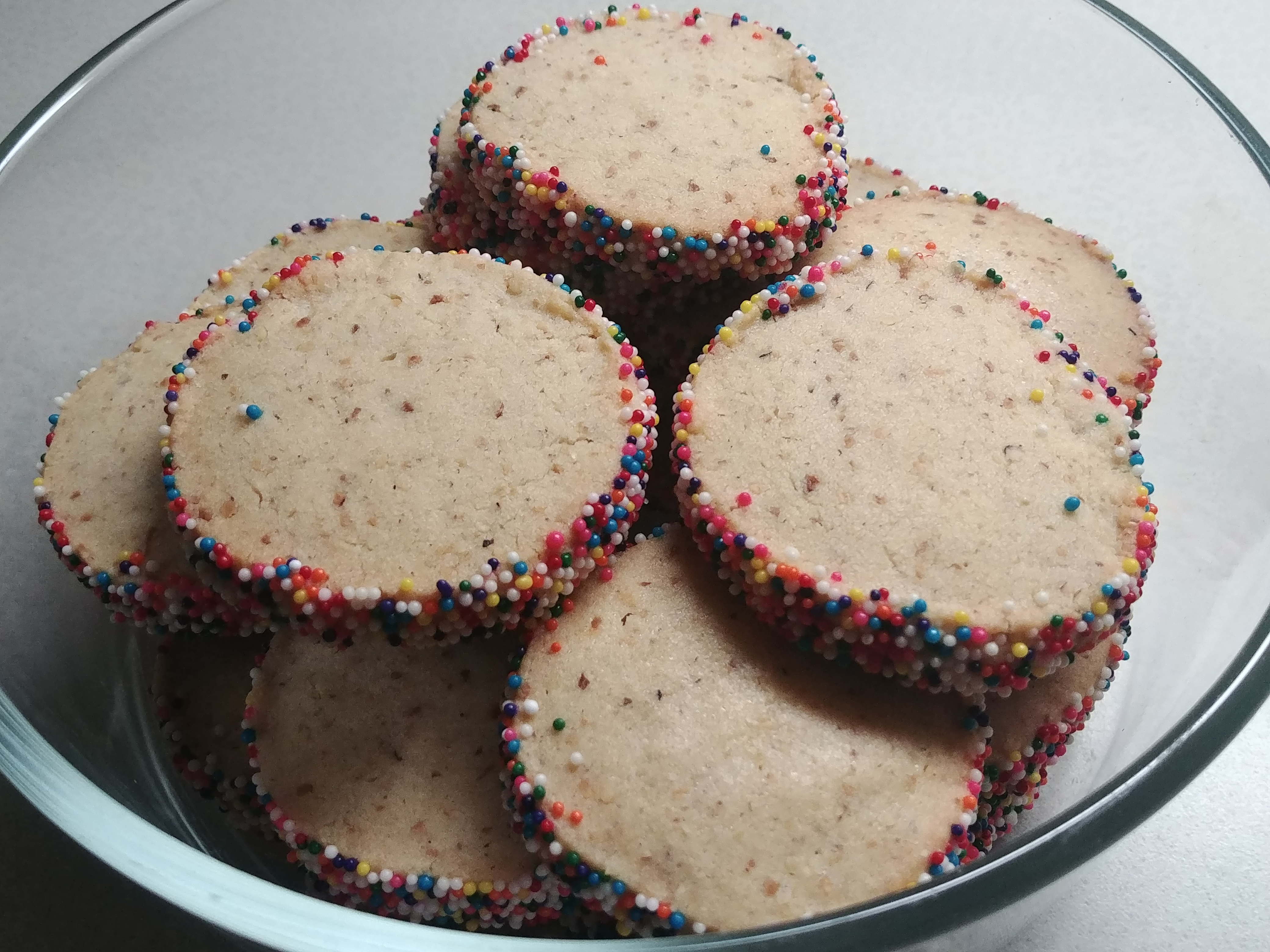 Oma Kiener's Hazelnut Christmas Cookies GreenGoddess