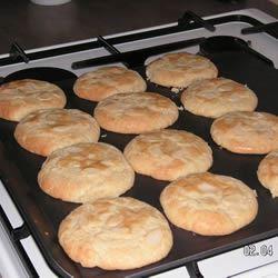 Glazed Almond Cookies Skinny Map