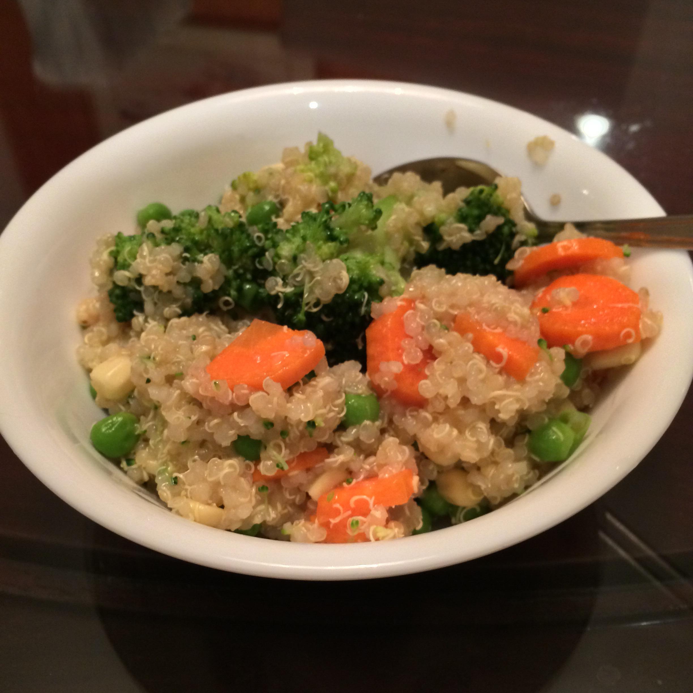 Healthy Quinoa Salad Jasmine L.