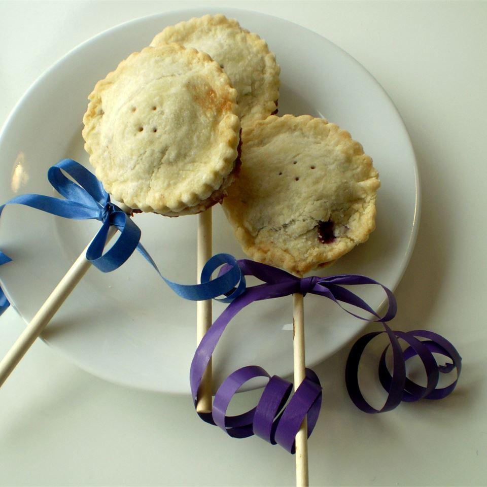 Blueberry Pie Pops