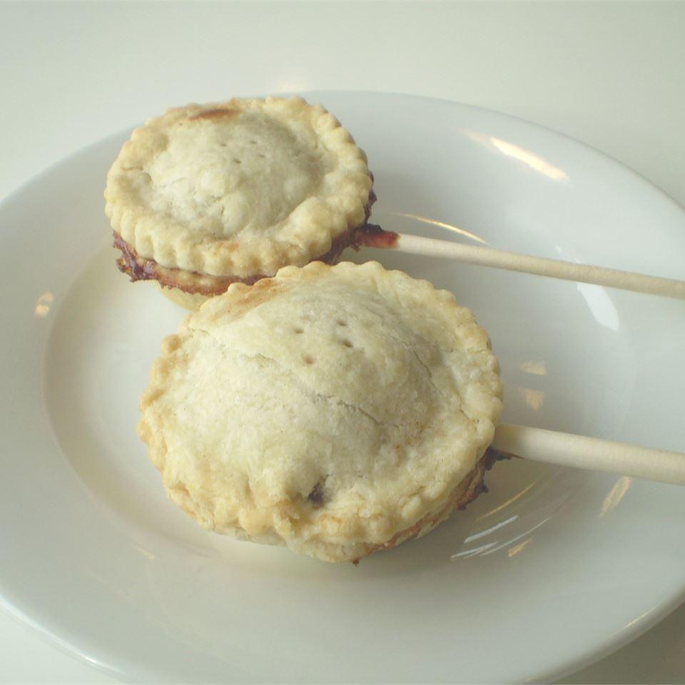Blueberry Pie Pops ScandoGirl