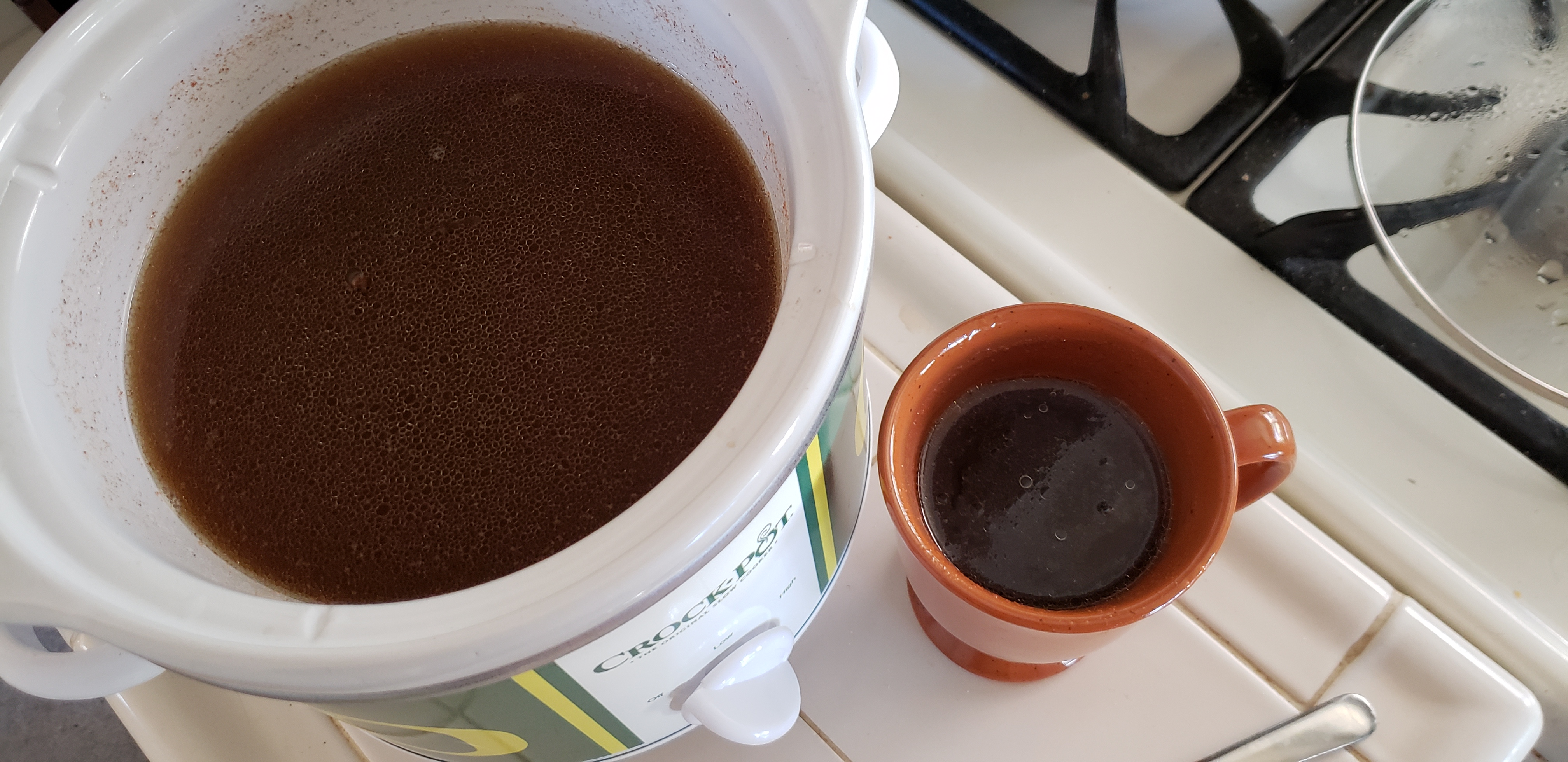 Hot Buttered Rum in a Slow Cooker Rainer