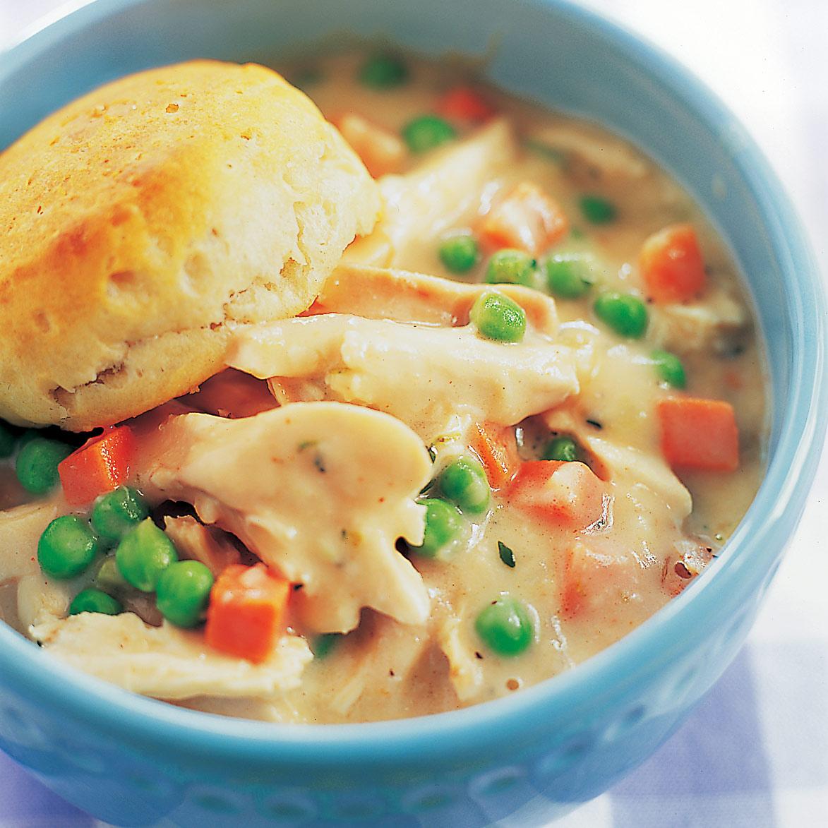 Slow Cooker Chicken Pot Pie Beverly Buonaugurio