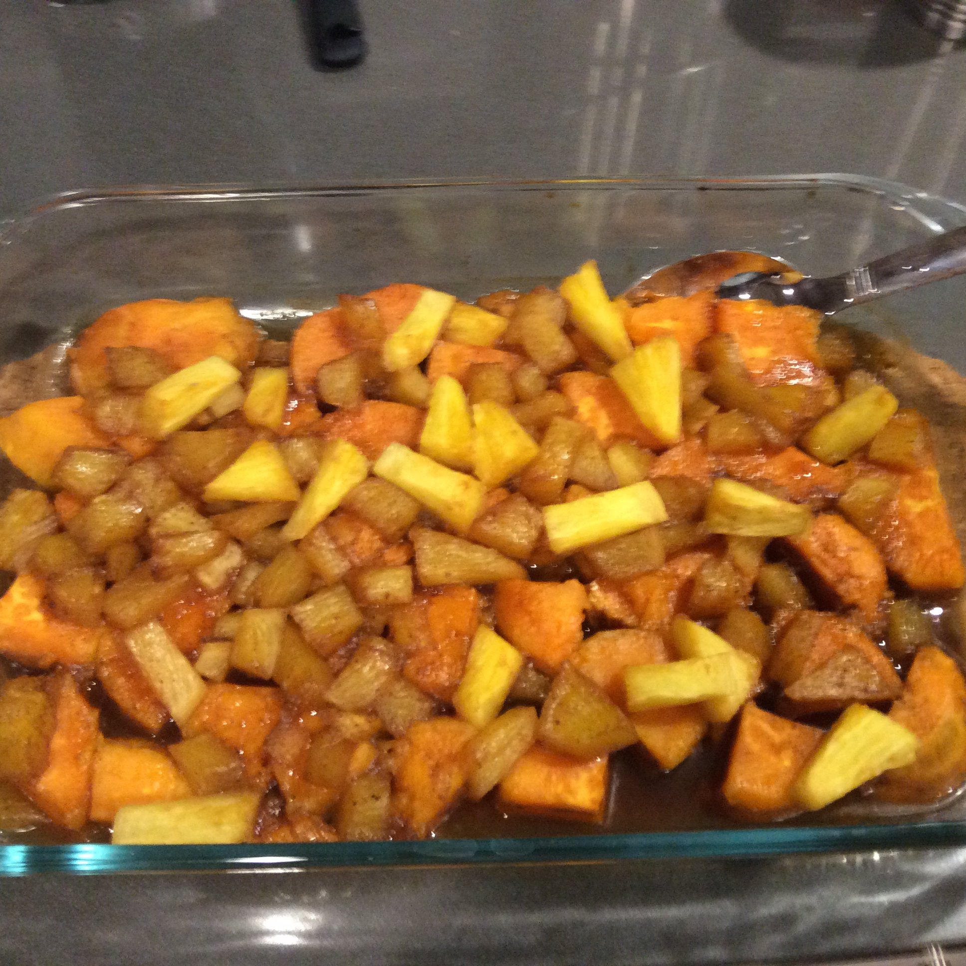 Pineapple Sweet Potatoes