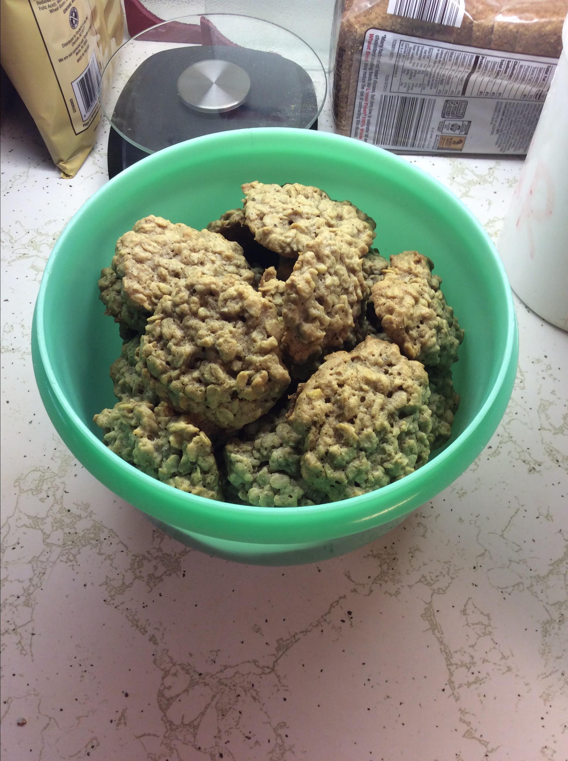 Banana Oatmeal Cookies II