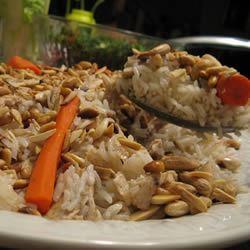 Upside Down Chicken Rice