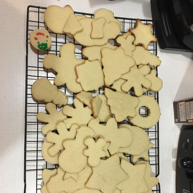 Soft Christmas Cookies Helen Rozenberg