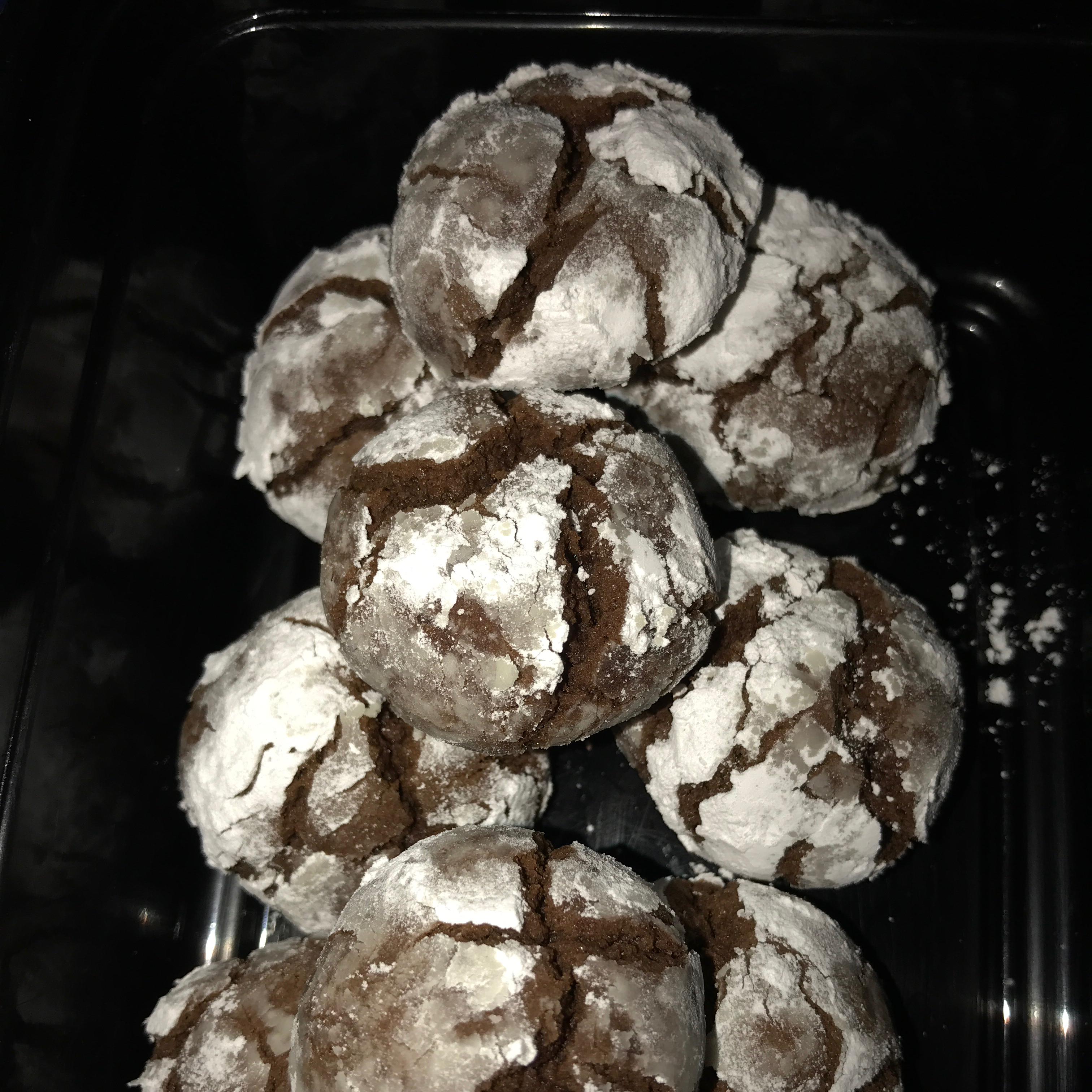Chocolate Mint Crinkle Cookies from Reynolds® Parchment Paper kayla
