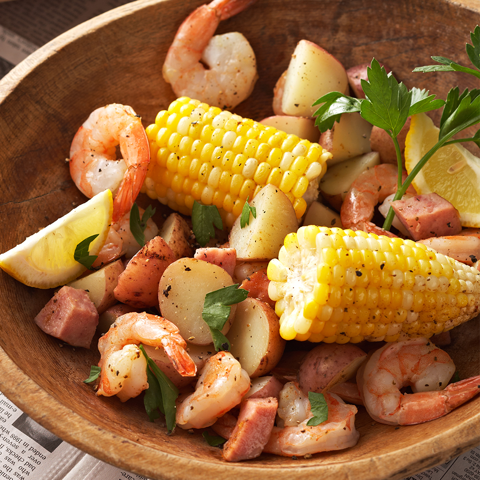 Shrimp Boil-Style Dinner Diabetic Living Magazine