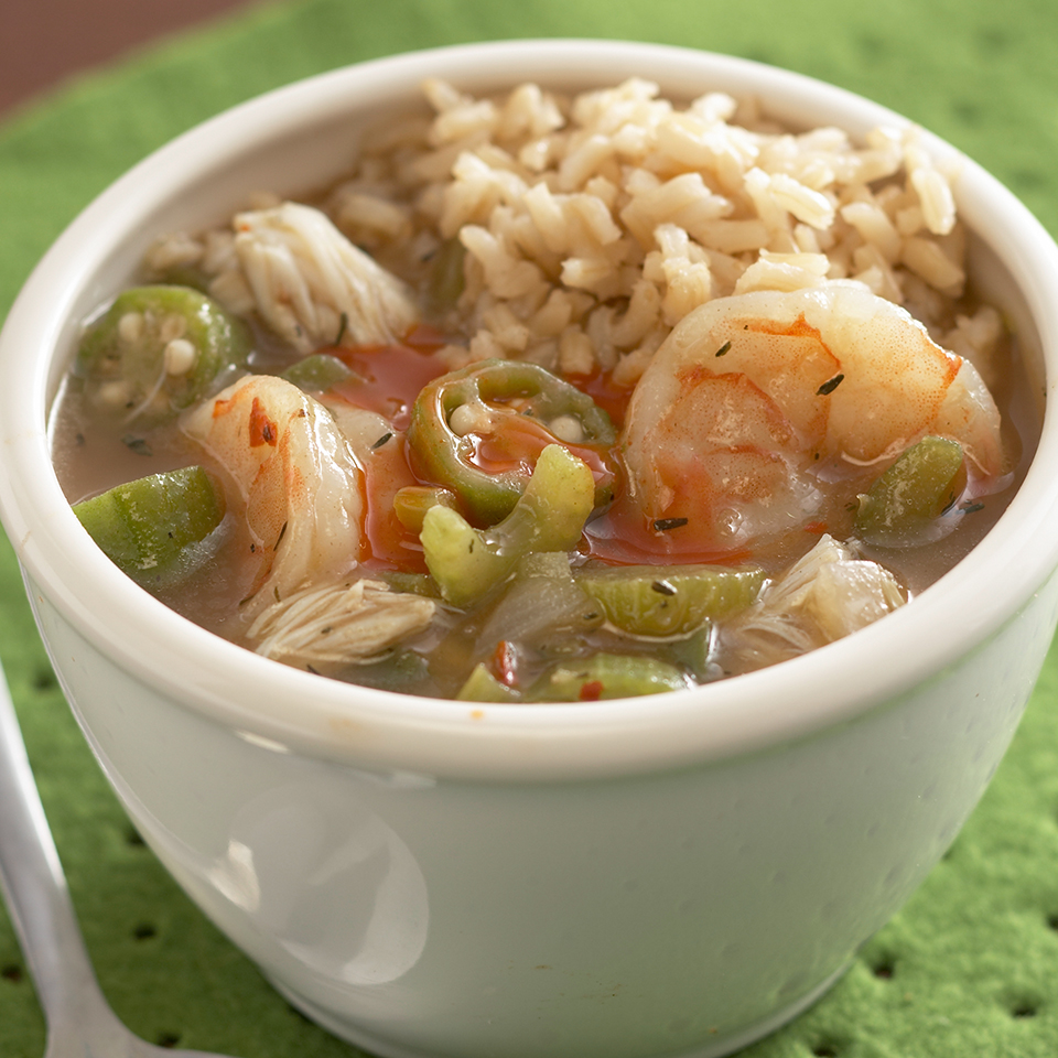 Shrimp & Crab Gumbo Diabetic Living Magazine
