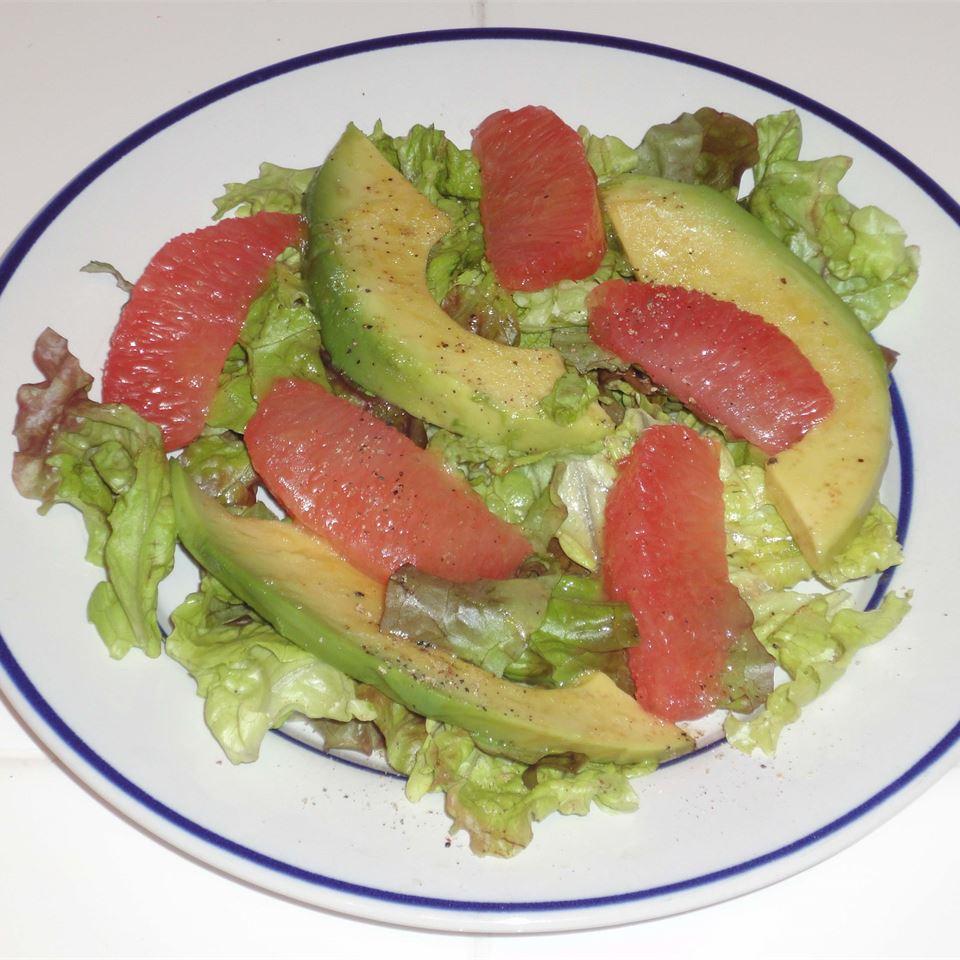Grapefruit and Avocado Salad Sugar-n-Spice