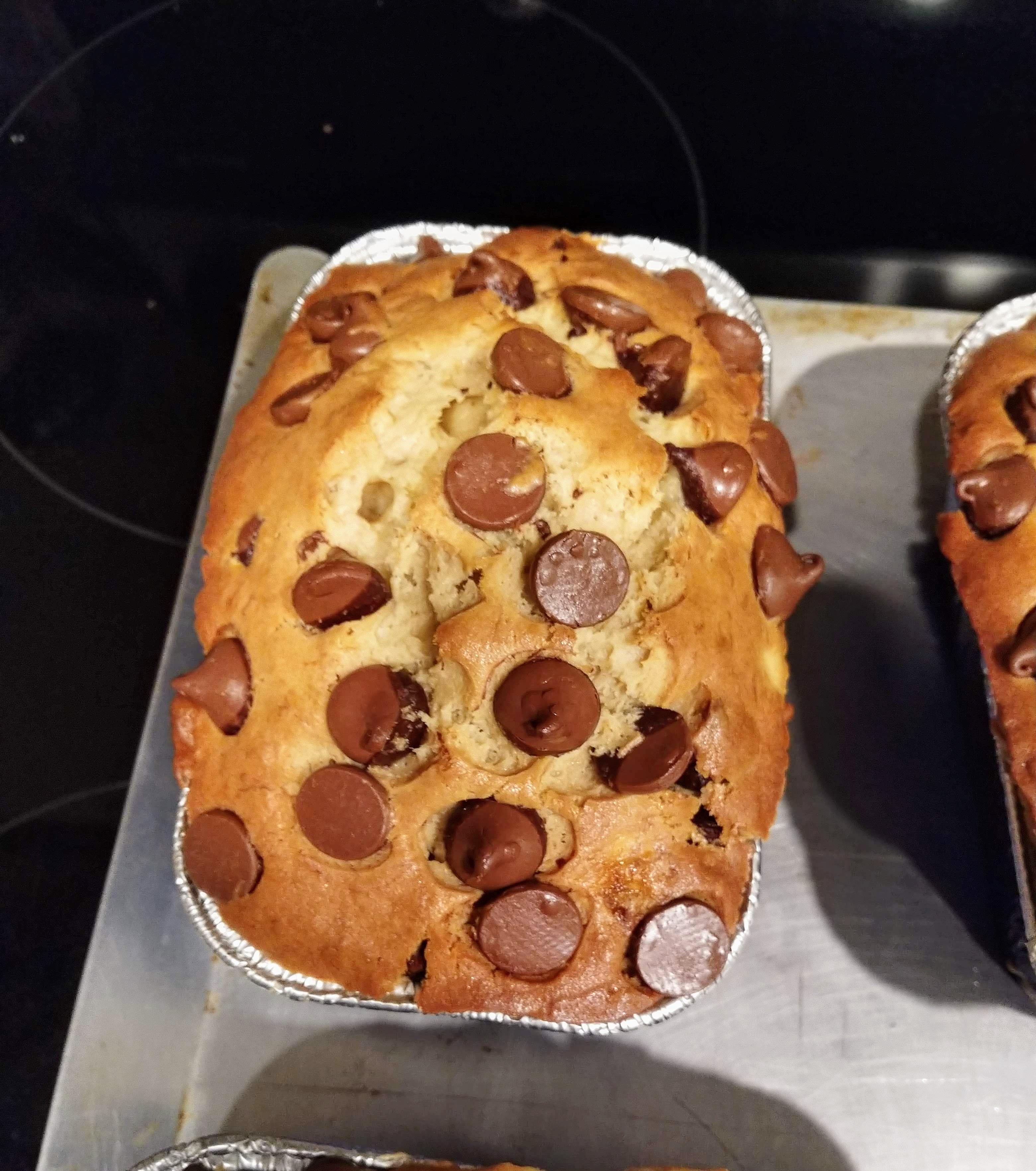 Ghirardelli Chocolate Chip Mini Banana Loaves Dan A
