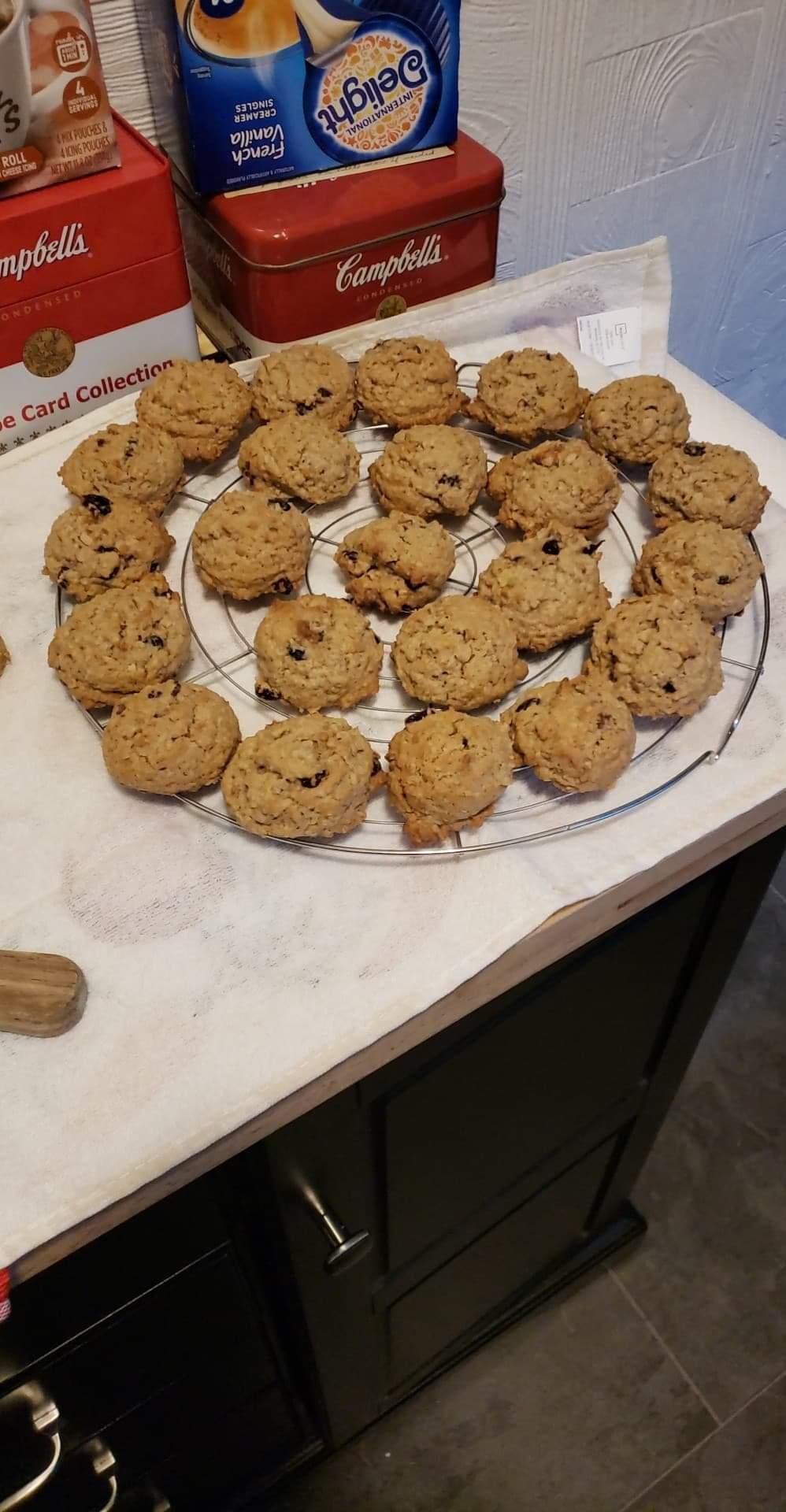 Grandma's Oatmeal Raisin Cookies Marsha Stephens Beaty