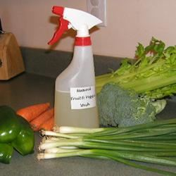 Natural Fruit and Veggie Wash