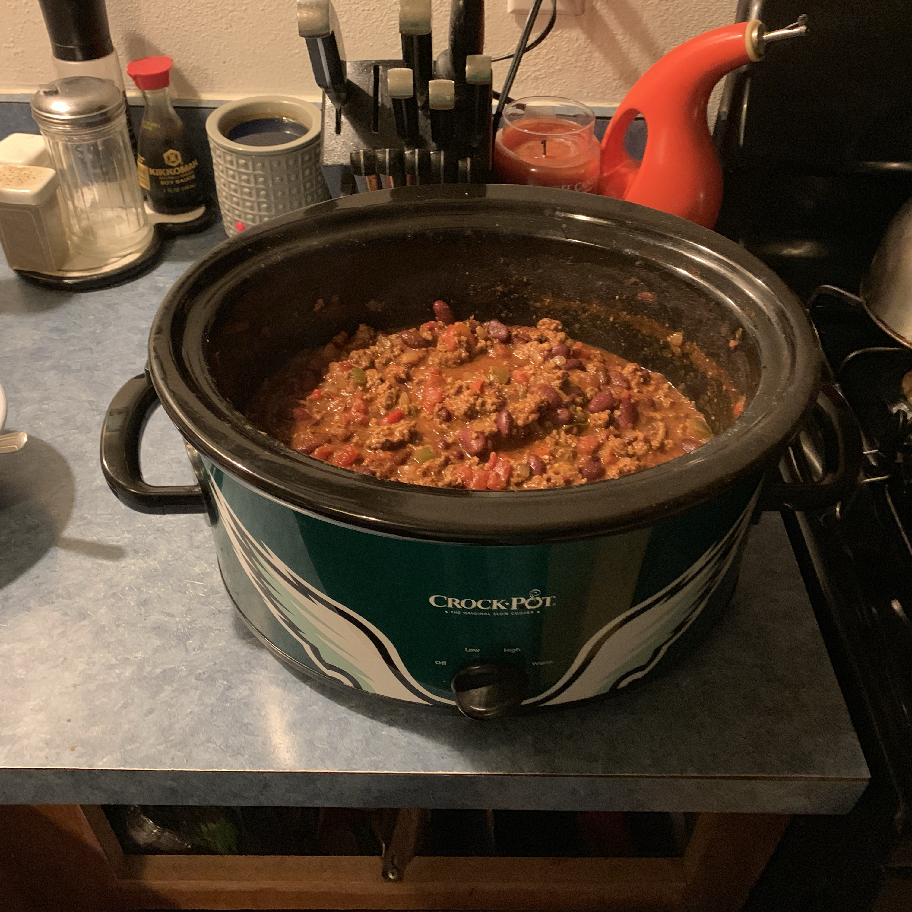 Spicy Slow-Cooked Chili FJTJ1021