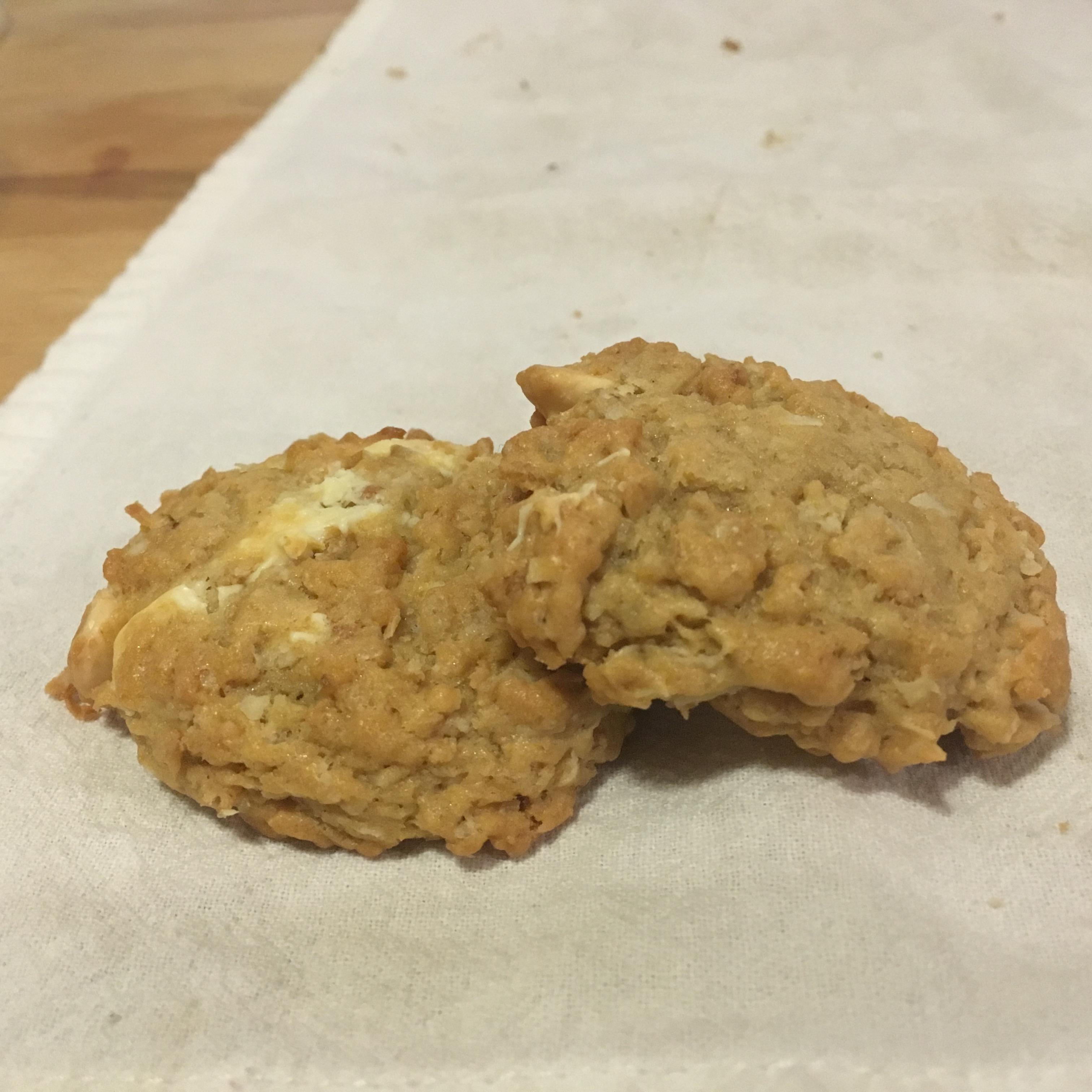 Grandmother's Oatmeal Coconut Cookies Erica Pappalardo