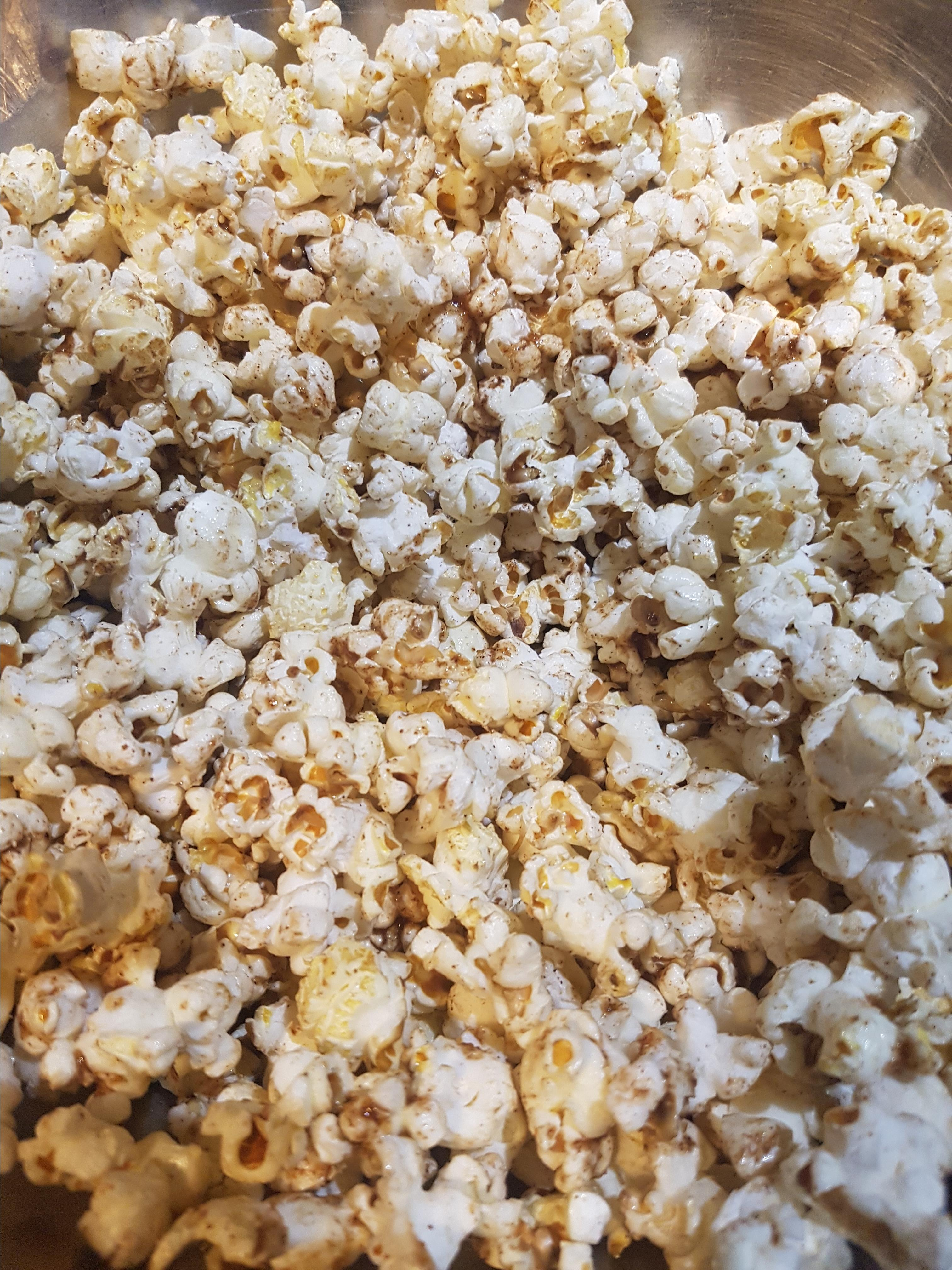 Sweet, Spicy, and Salty Popcorn KatS