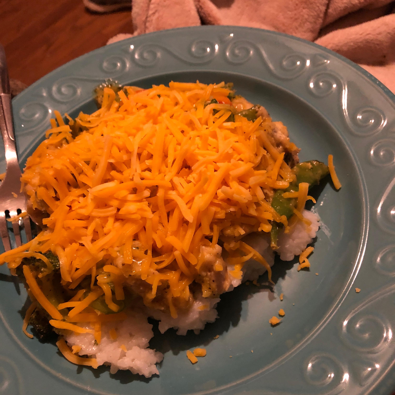 Cheesy Chicken Stir Fry