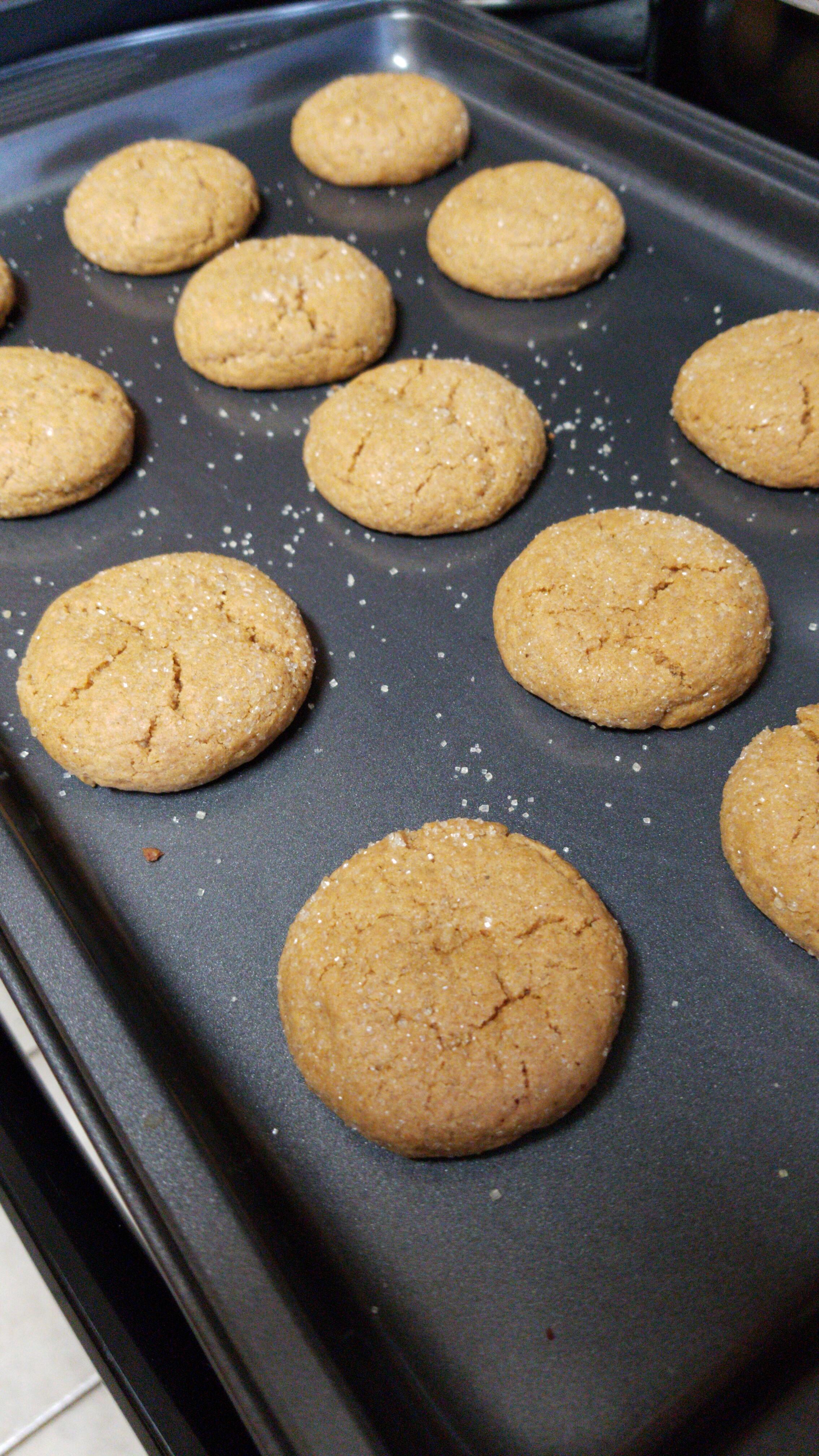 Big Soft Ginger Cookies Sarah