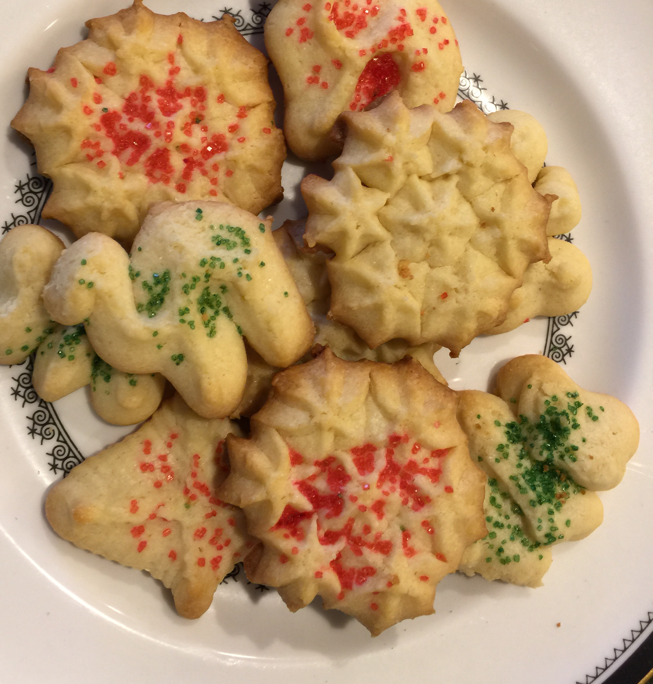 Spritz Cookies II Gail Novy