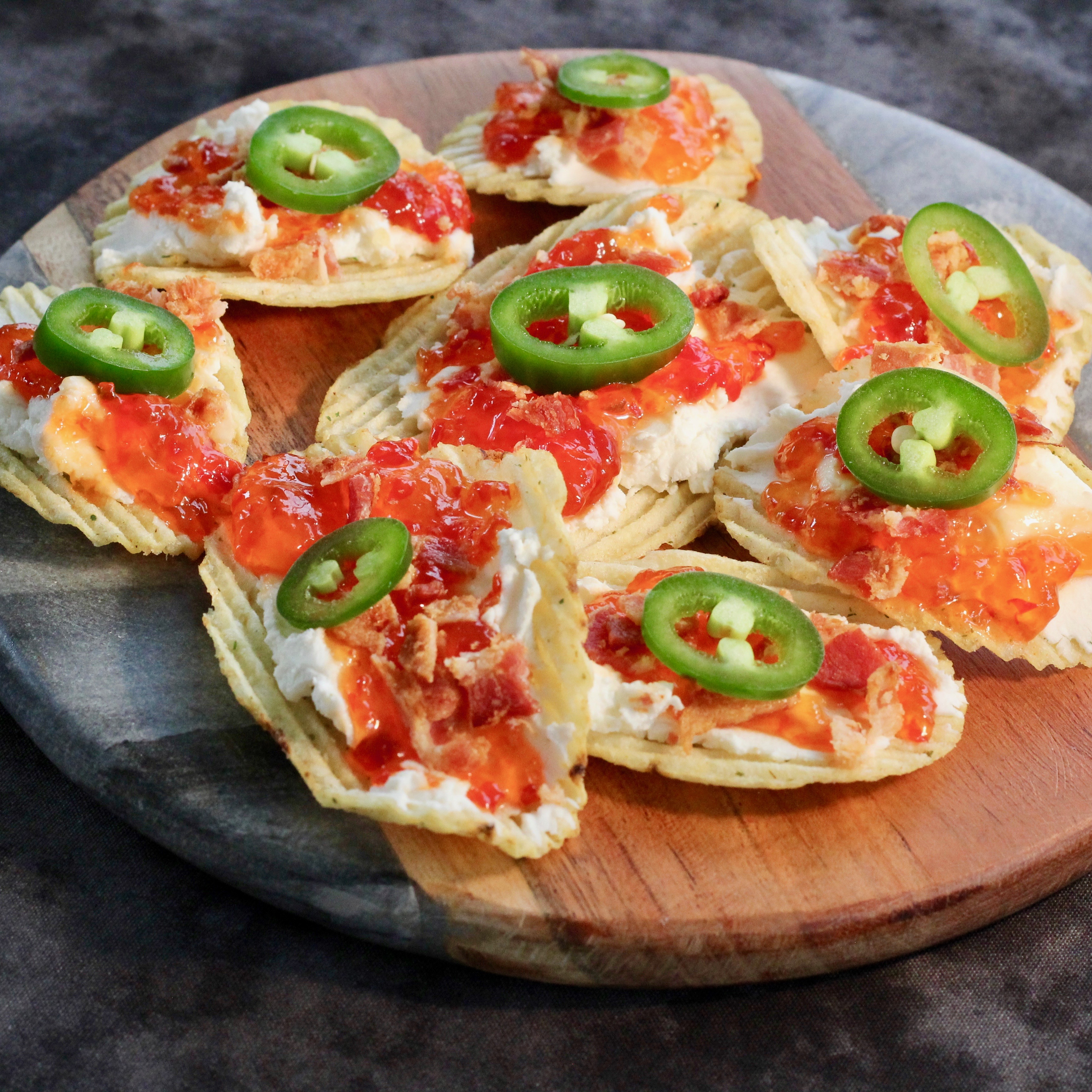 Hot Pepper Jelly Chips