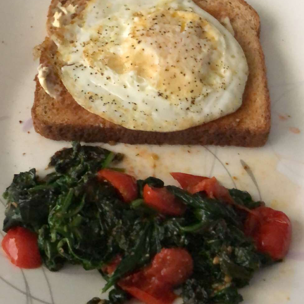 Quick and Easy Sauteed Spinach Tabatha Rigg