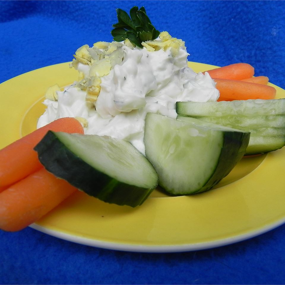Daffodil Vegetable Dip GolferGirl