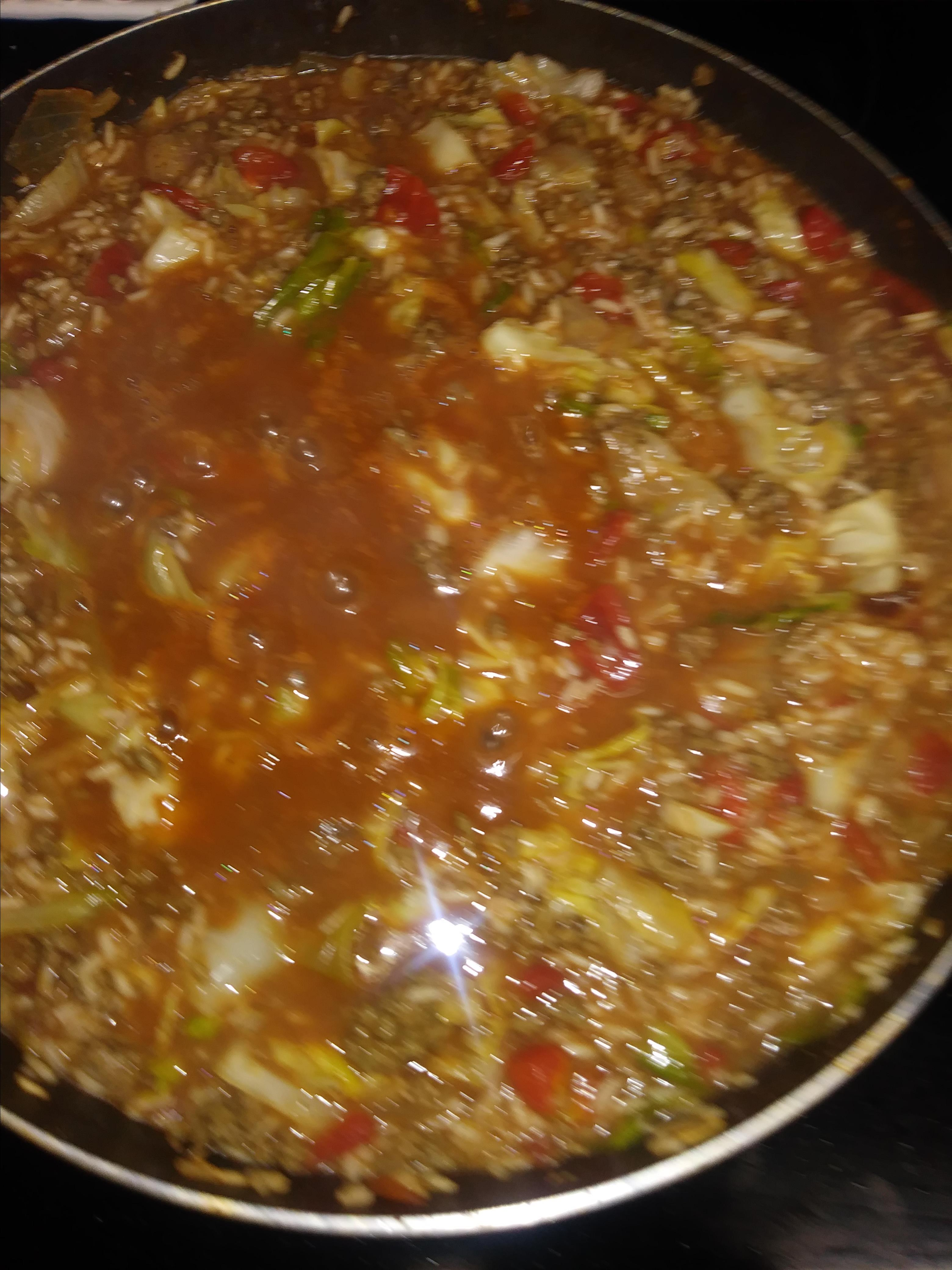 Unstuffed Cabbage Dinner