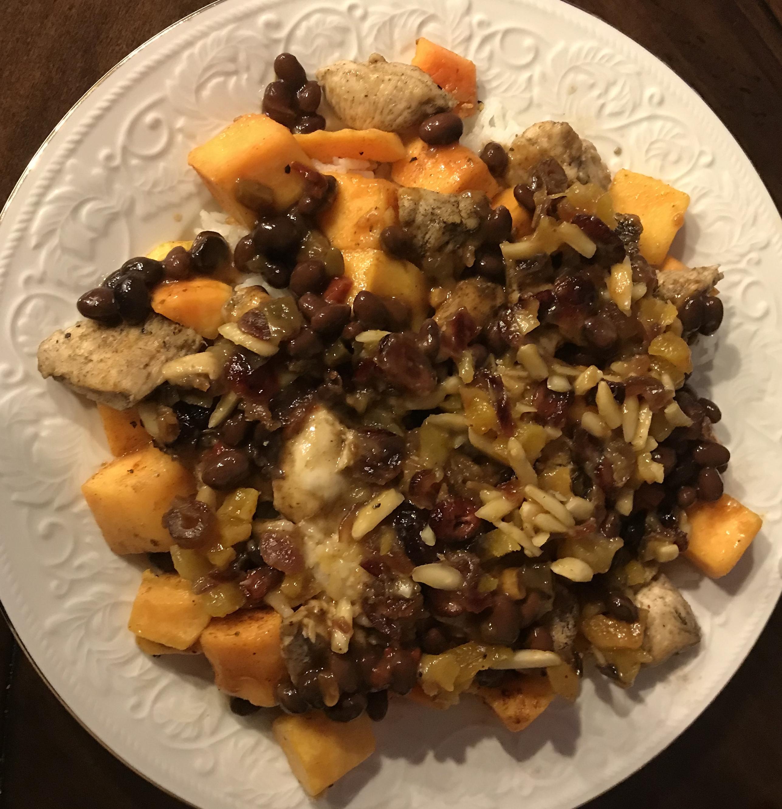 Moroccan-Style Chicken with Butternut Squash Noodles Tara Schroeder