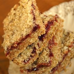 Delicious Raspberry Oatmeal Cookie Bars Obsequies