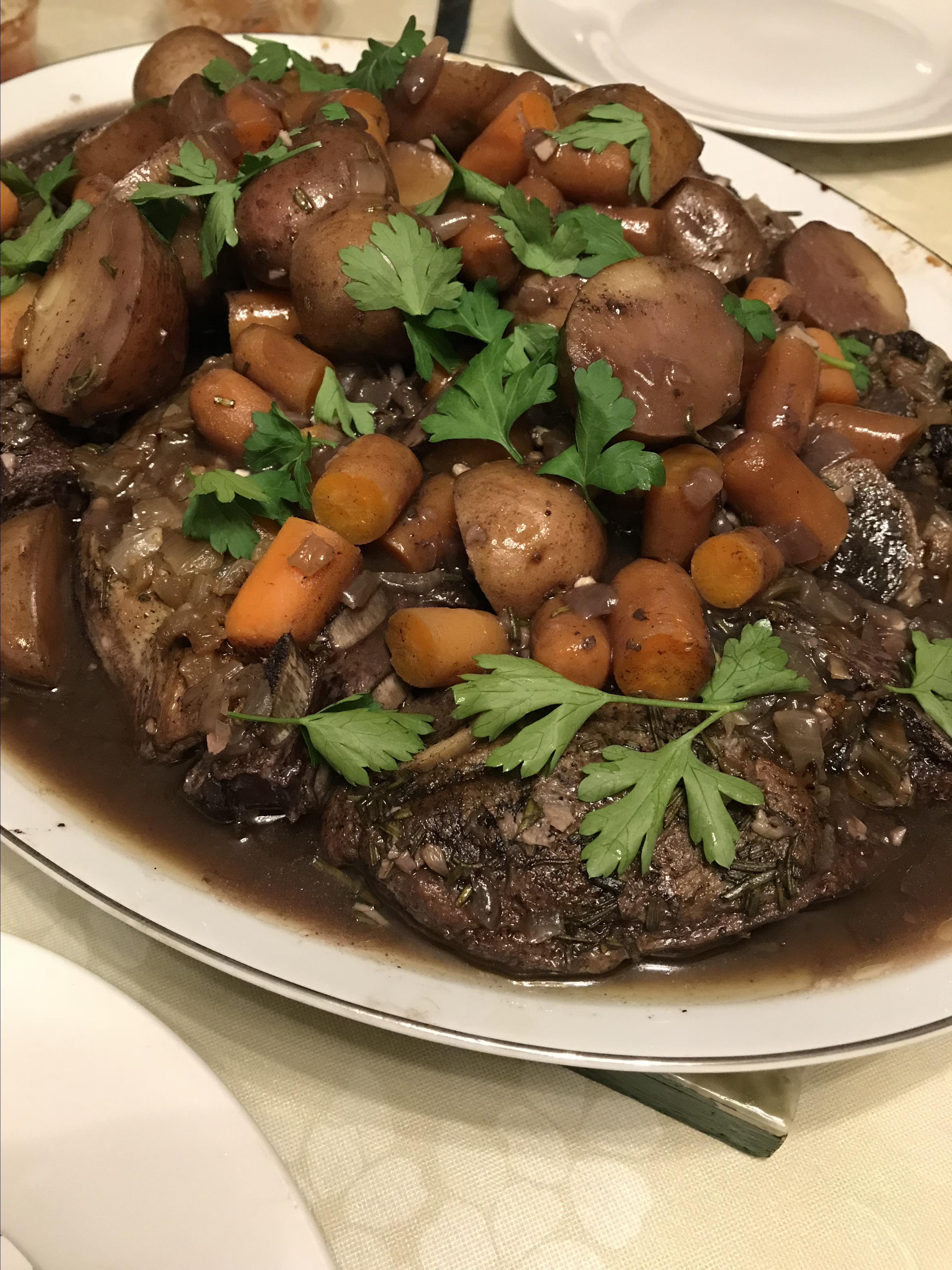 Braised Lamb Shoulder Chops