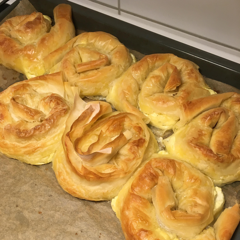 Feta Cheese Burek (Phyllo Dough) artwithaB