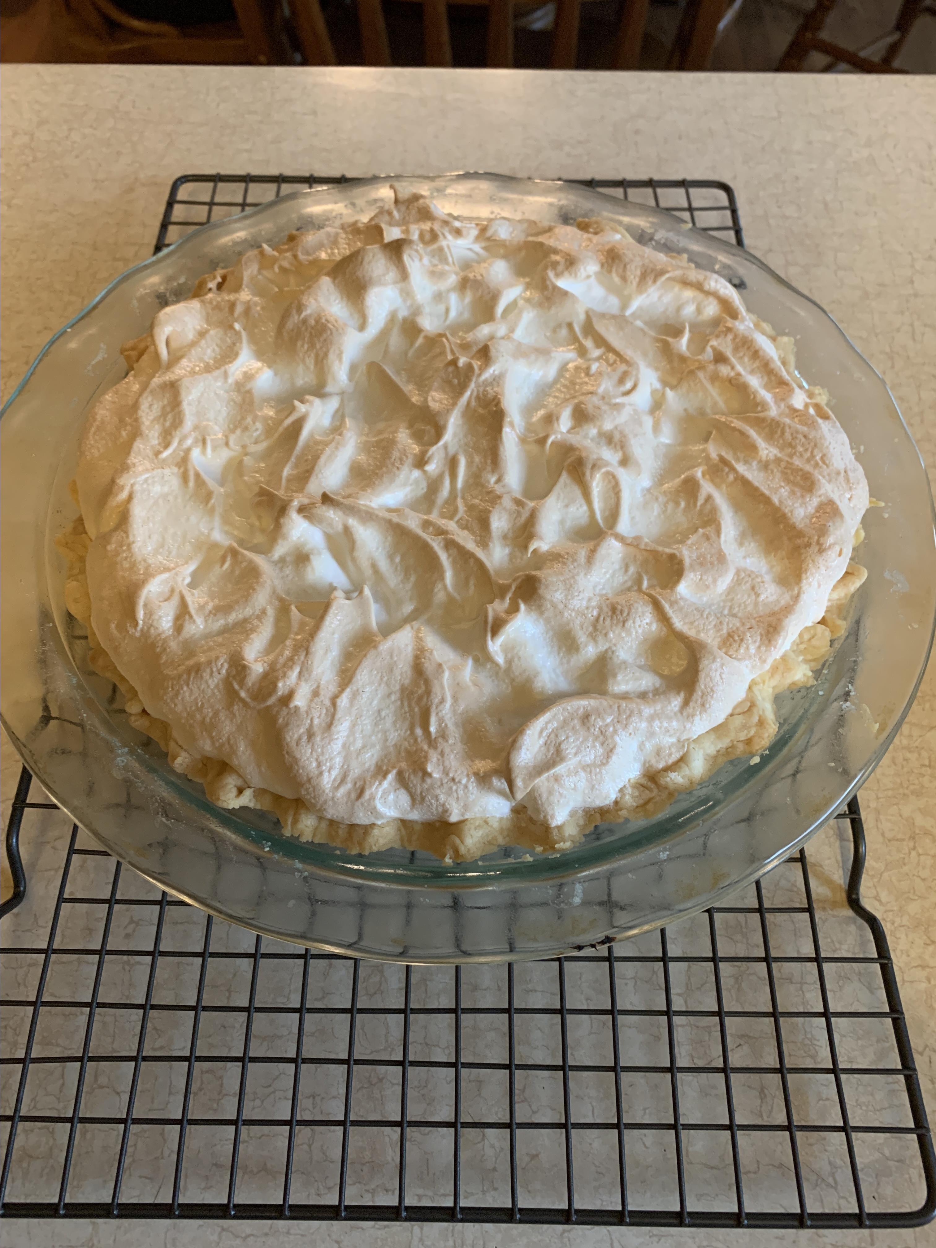 Mum-Mum's Butterscotch Pie Larry Basford