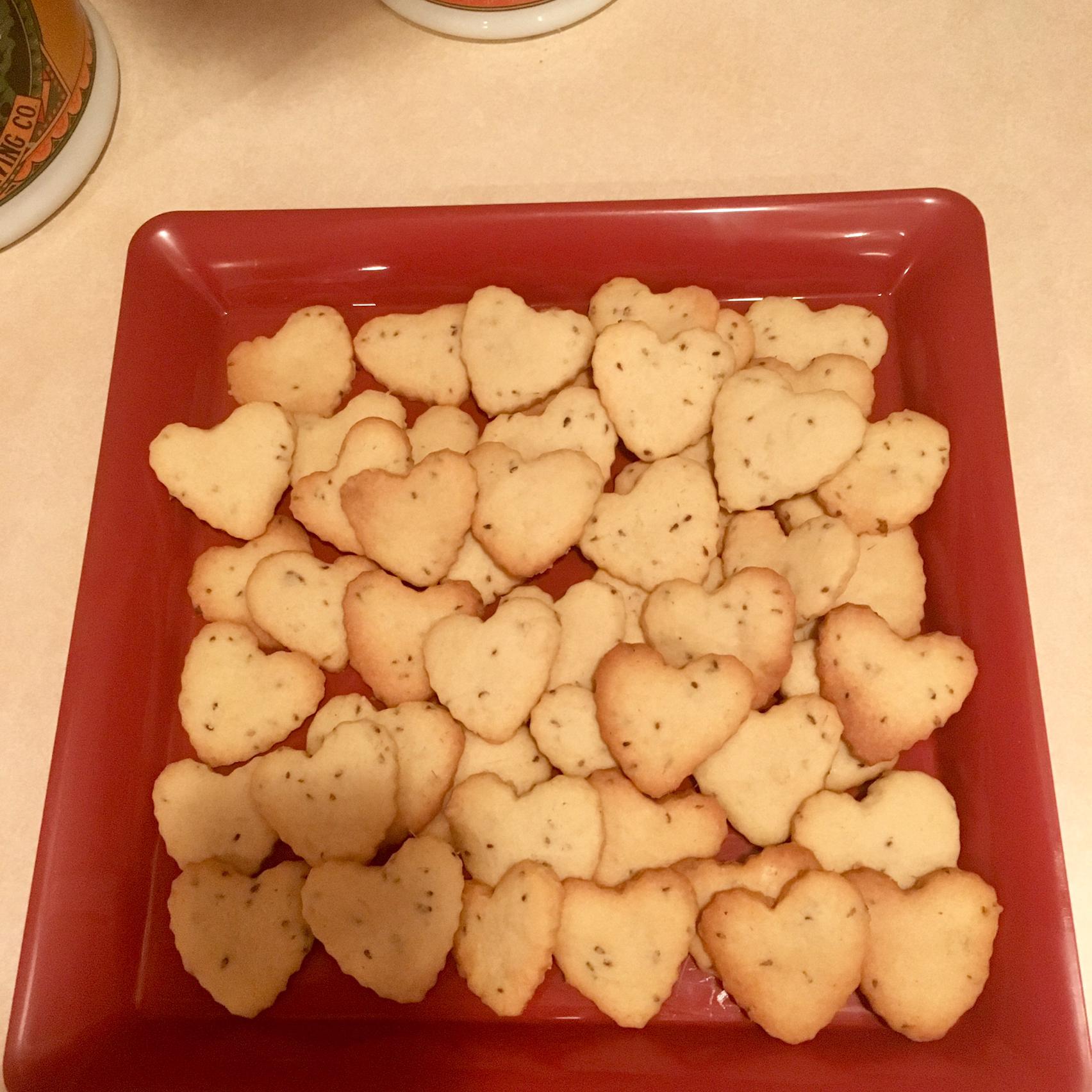 Anise Seed Borrachio Cookies Rosa