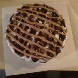 Decadent Peanut Butter Pie pbcrazy