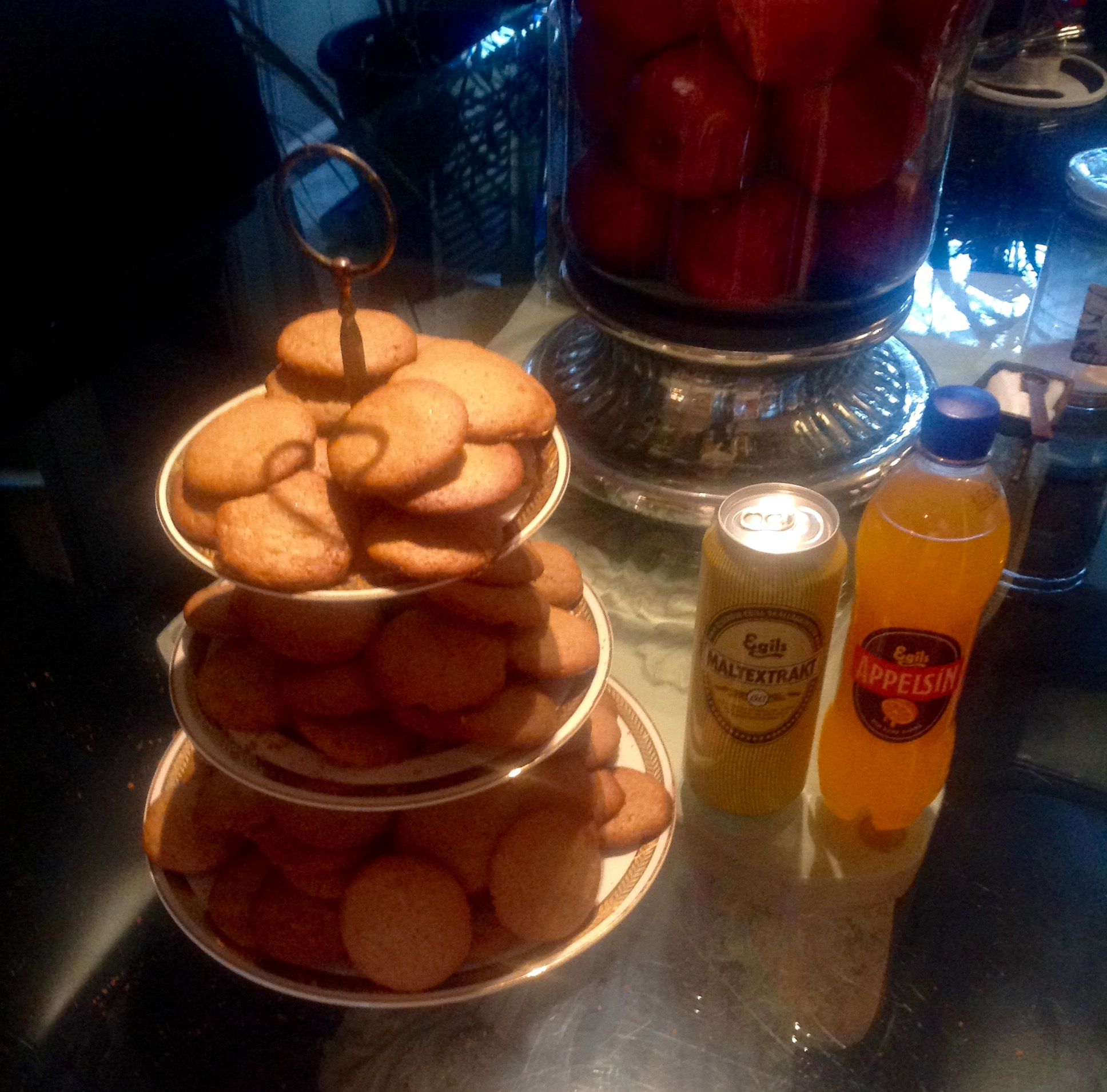 Icelandic Pepper Cookies Jeffrey Fisher