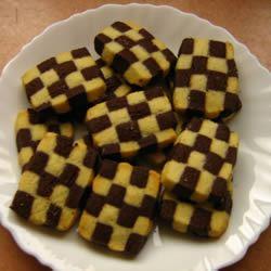 CheckerBoard Cookies II Samina Rasheed