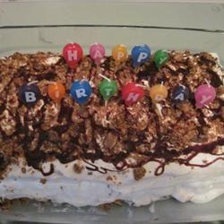 Easy Ice Cream Cake Mrs. B