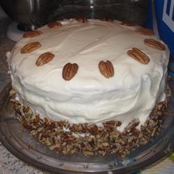 Carol's Butter Pecan Cake PamMar