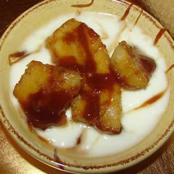 Bananas in Caramel Sauce