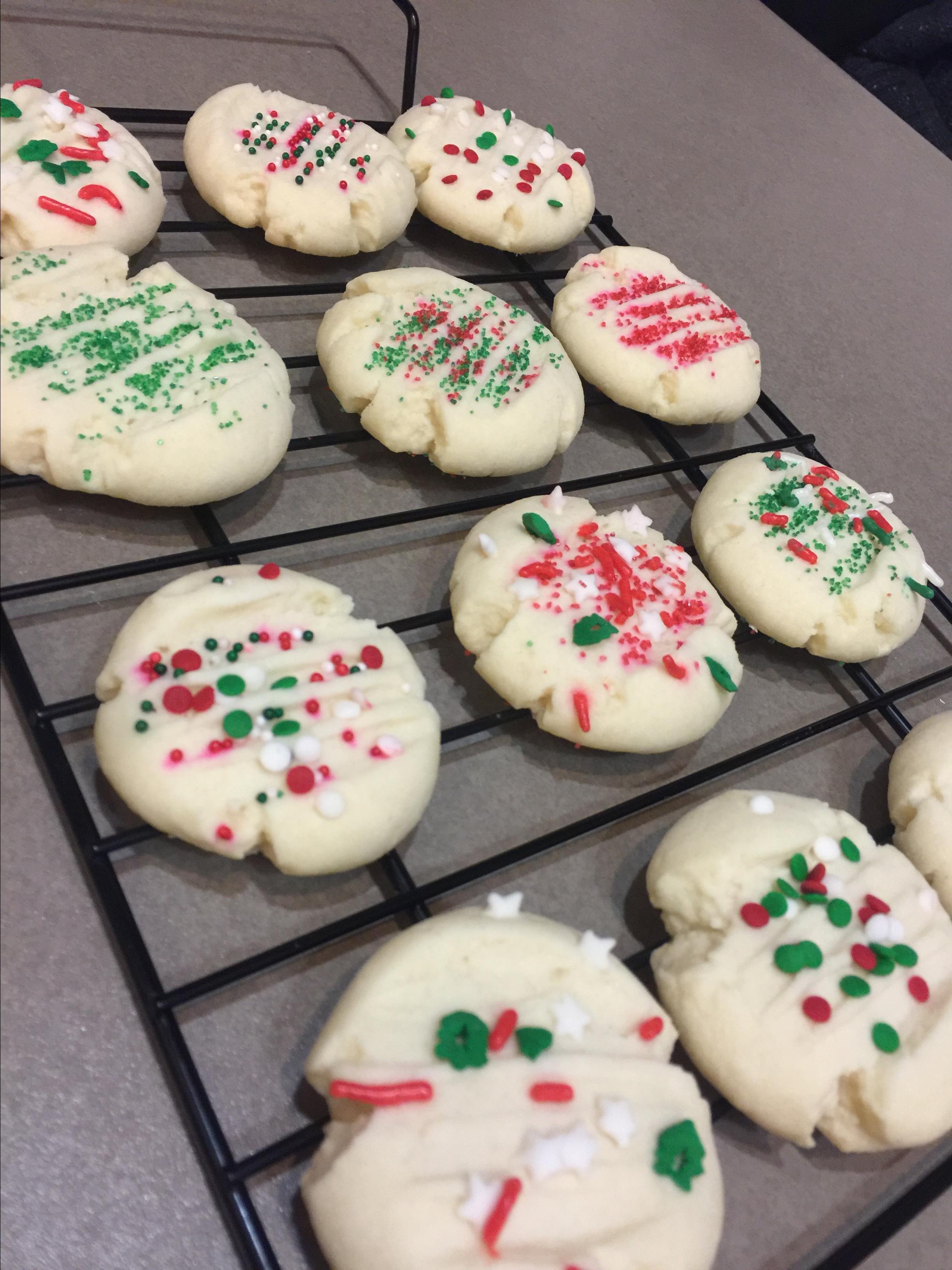 Shortbread Cookies III JohnChas Cardinal