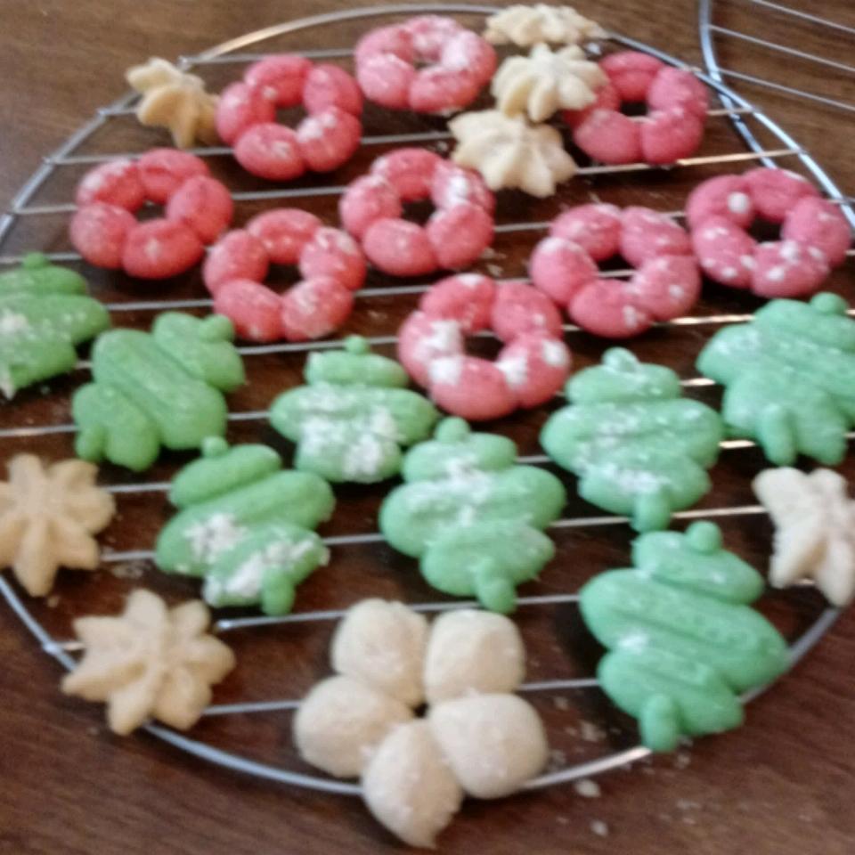 My Mom's Spritz Cookies Jen