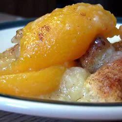 Easy Fresh Peach Cobbler