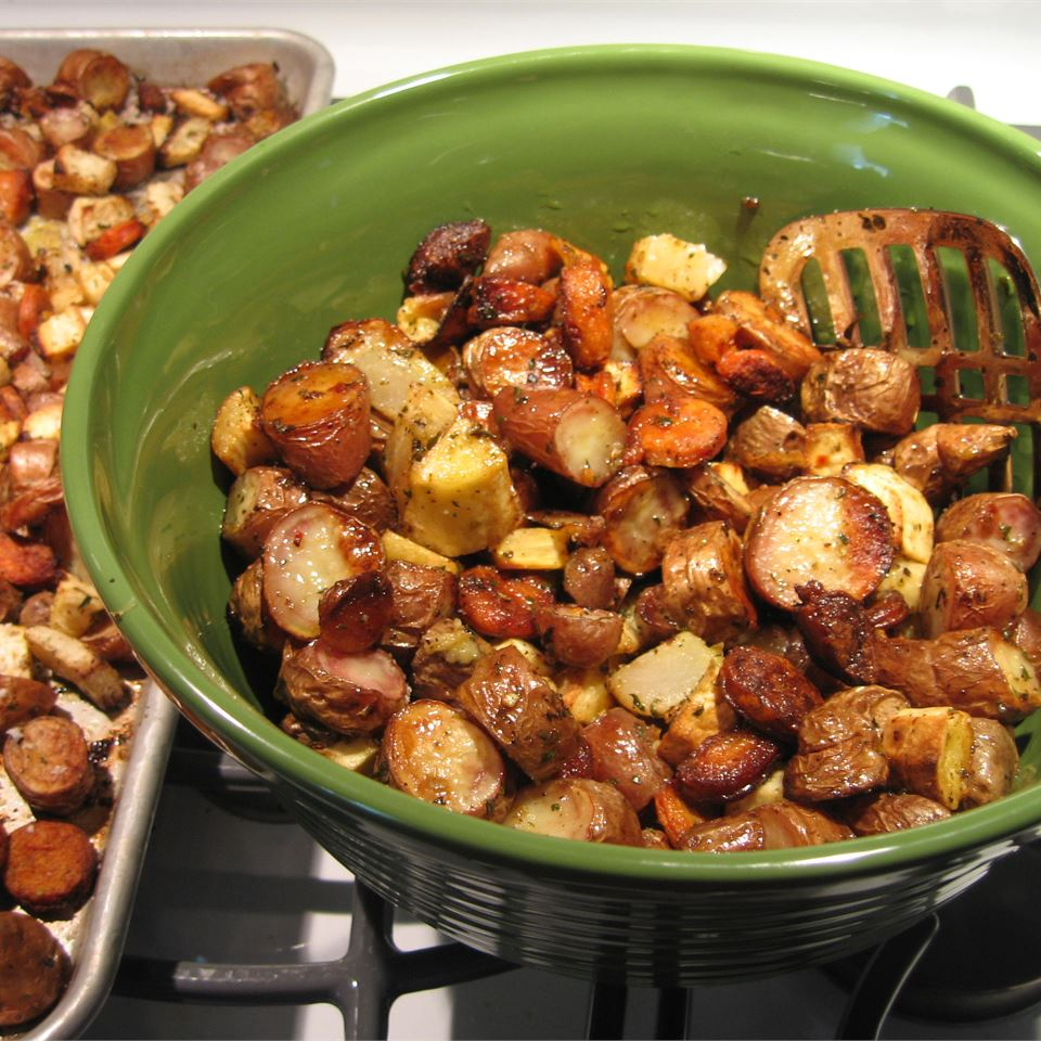 Sean's Mommy's Roasted Root Vegetables Menwith Hill'er Back Home !!
