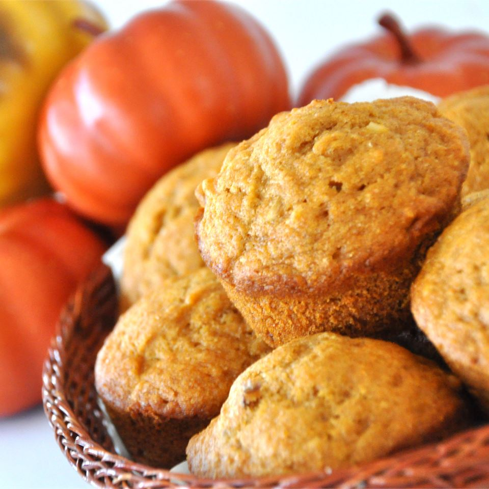 Pumpkin Wheat Honey Muffins Colleen Moir